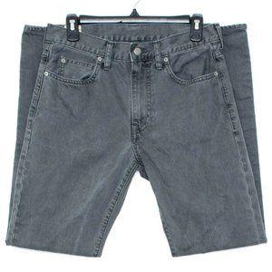 J Crew Mens Jeans 770 Straight Fit Gray 30 CK